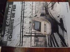 µ? Revue RGCF n°180 Fevrier 2009 Pertes temps aux frontieres RER D Metro DUBAÏ