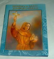 NOVENA TO SAINT JUNIPERO SERRA  Booklet Franciscan Friar Catholic ST  Pamphlet
