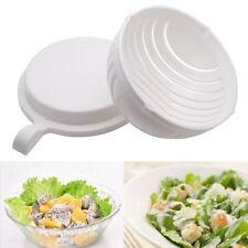 Magic Salatschneider Salad Maker Salat Obst Gemüseschneider Salatschleuder NEW