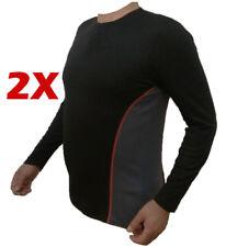 2 stk. lange  Unterhemd Herren Thermo Ski Unterwäsche  Funktionswäsche Gr. L - M