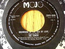 "Joe Simon-ahogando en el Mar de amor 7"" Vinilo"