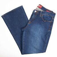 Lucky Brand Womens Jeans 12/31 Ankle Sofia Boot Cut Medium Dark Wash Stretch