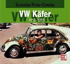 VW Käfer 1953-1978 Schrader Typen Motor Modelle Chronik Buch Book Werbung NEU