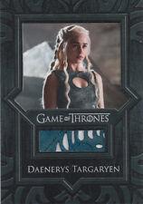 Game of Thrones Valyrian Steel, Daenerys Targaryen's Blue Dress VR2 Relic Card