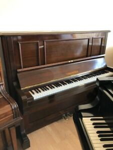 Bechstein Model 8 Upright. Fully Reconditioned-5 Year Guarantee