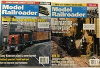 Model Railroader Magazine 2000 Lot of 2 Train Vintage How to September May