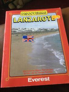Discovering Lanzarote (1983/5). VGC.