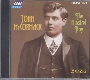 John Mccormack - Minstrel Boy CD A55