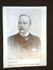 Ugo del Castillo di Sant'Onofrio di Baden Baden Ministro degli Interni nel 1903