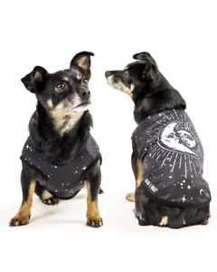 Rogue and Wolf Astral Dogs PET Crescent Moon Sun Gothic Punk Vest Costume PET-03
