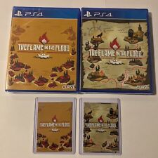 The Flame In The Flood Double Set Limited Run Games #83 Sony PS4 NEW RARE SEALED