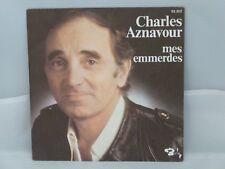 Charles Aznavour – Mes Emmerdes                 Barclay – 62.202