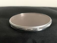 CANON 55MM SILVER FILTER / LENS FILTER