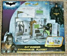 Batman The Dark Knight Mattel BAT BUNKER X-PANDABLES PLAYSET Sealed MIMB
