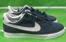 Nuovo Nike Dolce Classico Scarpe da Ginnastica in Tela 417784 400 Taglia 7.5