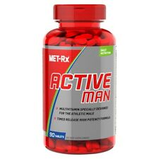 MET-Rx ACTIVE MAN Daily Multivitamin for Athletic Men - 90 tabs MUSCLE VITAMINS