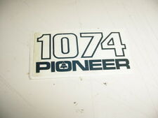 PIONEER CHAINSAW 1074 STICKER DECAL ---------- BOX591B