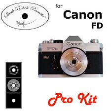 Skink Pinhole Pancake Lens Pro Kit Canon FD FTb F1 TX