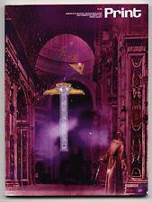 1994 Robert Massin PRINT mag Ed RUSCHA Type EXHBT Design GAY Media ILLUSTRATION