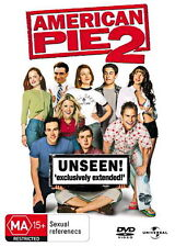 American Pie 2 - Jason Biggs, Shannon Elizabeth - Comedy / Adventure - NEW DVD