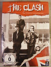 The Clash: Music Masters Collection (DVD, 2012, 3-Disc Set) BRAND NEW!