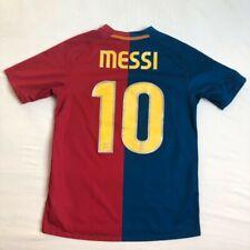 Barcelona FC Leo Messi Retro Jersey Shirt Home 08/09 2008-2009 8 Size XXL