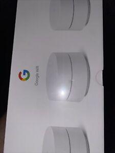Google Wifi Mesh Network Router AC1200  3PK GA02434-US NEW SEALED READ PLEASE