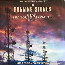 The Rolling Stones Star Spangled Airwaves 1964-66 CLEAR COLOURED VINYL LP