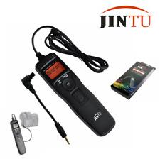 Temporizador remoto Intervalómetro Lapso Jintu Disparador para Canon 5D II 7D 40D