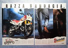 CIAK993-PUBBLICITA'/ADVERTISING-1993-YAMAHA WR 125 CHESTERFIELD SCOUT (2 fogli)