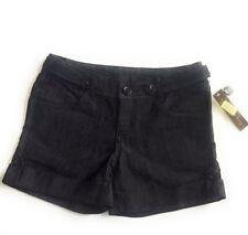 Copper Key Womens Shorts Junior Sz 3 Denim Cuffed Hem - New NWT
