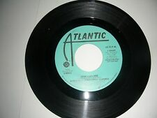PROMO 45 Aleem feat Leroy Burgess - Love's On Fire  Atlantic NM 1986