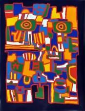 Jacques SOISSON (1928-2012) Sérigraphie signée / HandSigned Serigraph / Art brut