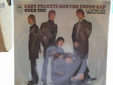 GARY PUCKETT AND THE UNION GAP W/ PICTURE SLEEVE OVER YOU / IF THE DAY WOULD COM