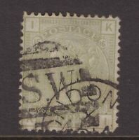 Great Britain 4d sage green QV 1877 plate 16 CV £300