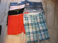 ABERCROMBIE/Hollister mix lot of (8) Short Shorts/High Waist Shorts....size 00