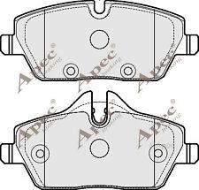 1x OE Quality Brand New Apec Brake Pad Set - PAD1758 - 12 Month Warranty!