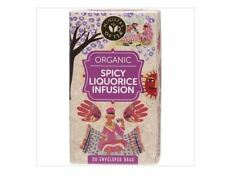 4 x 20 Tea bags MINISTRY OF TEA Organic Spicy Liquorice Infusion (80 tbags)