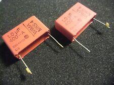 10 x diapositives Condensateur 1uf Neuf 10/% 63 V mks-4
