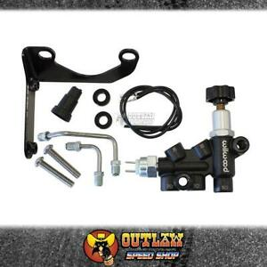 WILWOOD COMBINATION BRAKE PROPORTIONING VALVE KIT RIGHT HAND MOUNTING BKT