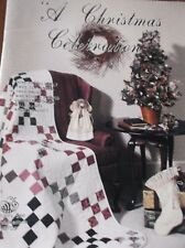 A CHRISTMAS CELEBRATIONS CRAFT PATTERNS BOOKLET QUILT ANGELS TREE SKIRT SWAG WRE