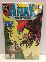 Arak Son of Thunder #19 Comic Book DC 1983