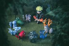 10pcs Set Anime Naruto Shippuden Uzumaki & Tailed Beast PVC Figure