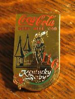 Coca Cola Kentucky Derby Week Lapel Pin - Vintage 1990 Coke Soda Pop Louisville