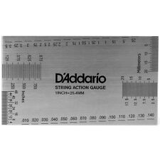 Daddario String Height Gauge - All-In-One Guitar Set-Up Tool , New!
