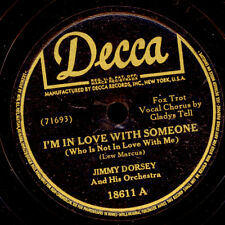 JIMMY DORSEY & HIS ORCH. I'm in Love with someone   Schellackplatte 78rpm X2600