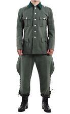 WW2 WWII GERMAN M36 OFFICER WOOL FIELD MILITARY UNIFORM TUNIC & BREECHES  M