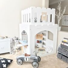 NEW CASTLE INDOOR CUBBY HOUSE + TWO FREE PLAY FURNITURE  - QUALITY AUSSIE MADE