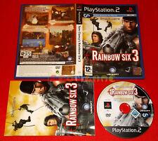 TOM CLANCY'S RAINBOW SIX 3 Ps2 VersioneItaliana 1ª Edizione ○ COMPLETO