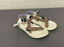 Chaco Z/1 White Pizza & Ice Cream Waterproof Sport Sandals US Men's 11 EXCELLENT